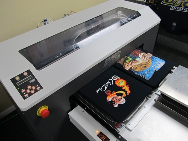Choosing a dtg printer archives mom improvement for Machine for printing on t shirts