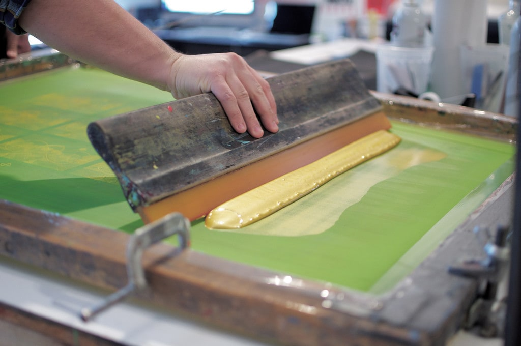 screen printing example